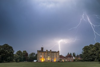 Chiddingstone Castle Wedding Lightning Strike - c - Lawes Photography-_DSC5173