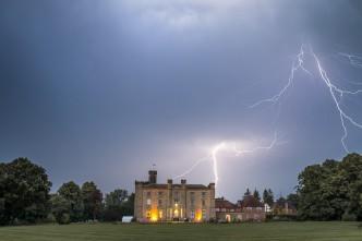 Chiddingstone Castle Wedding Lightning Strike - c - Lawes Photography-_DSC5173