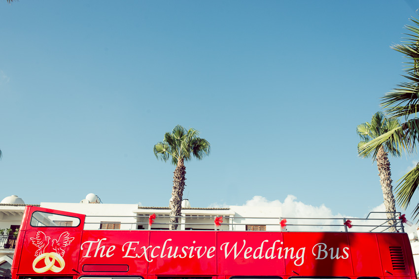 Wedding Bus Pathos Cyprus_
