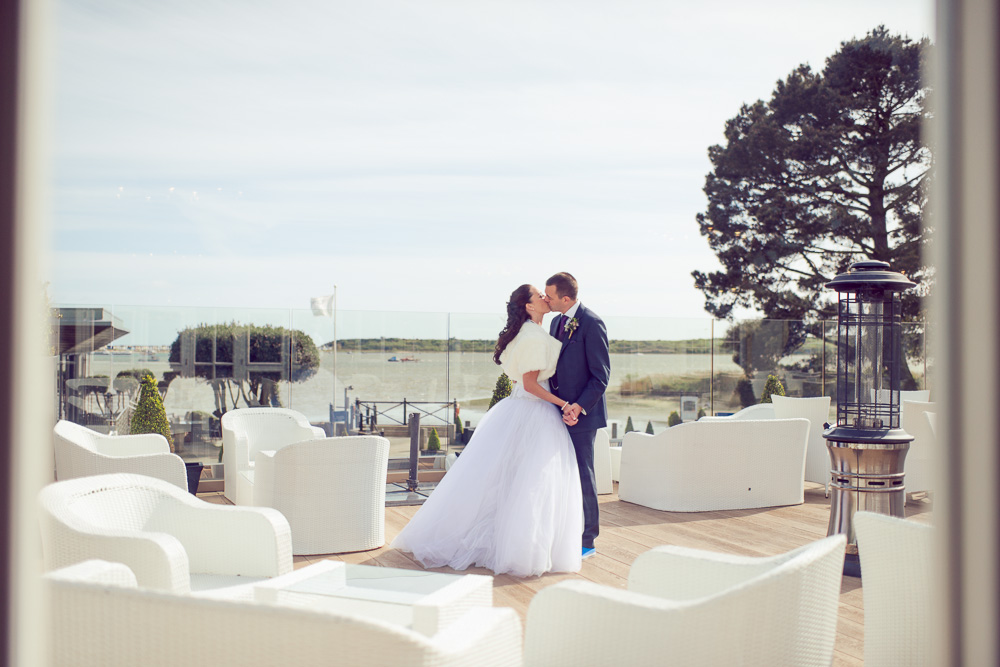 Christchurch Harbour Hotel Wedding Photographer -1 e-3