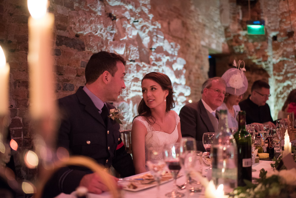 Lulworth Castle Wedding Breakfast