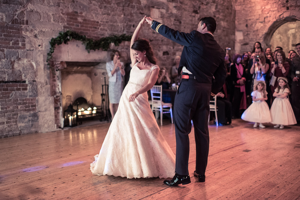 Lulworth Castle Wedding First Dance
