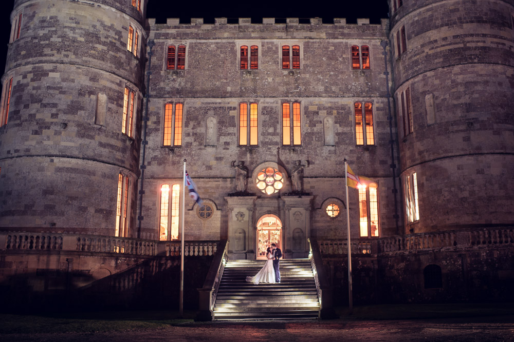 Lulworth Castle winter Wedding