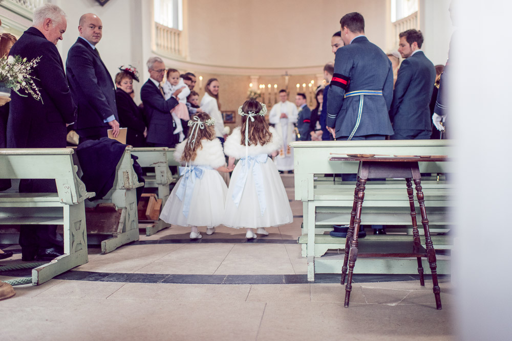 Lulworth Castle Chapel - Wedding Photography