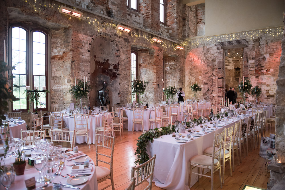 Lulworth Castle Wedding Venue Flowers