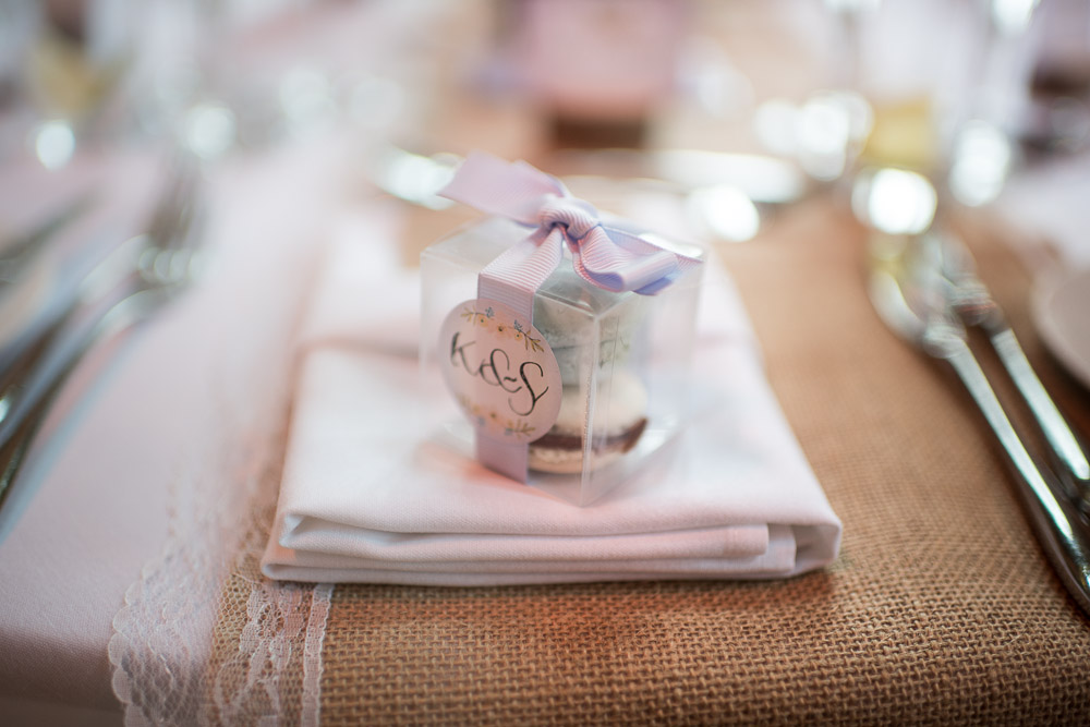 Lulworth Castle Wedding Venue Table favours