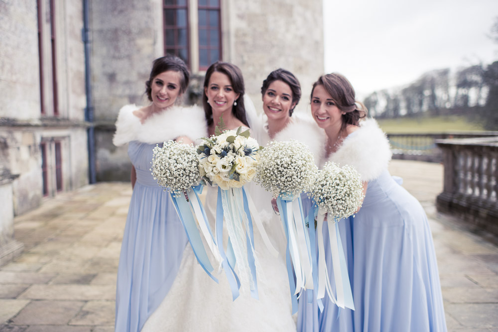 Lulworth Castle Wedding Photographer Brides Maids