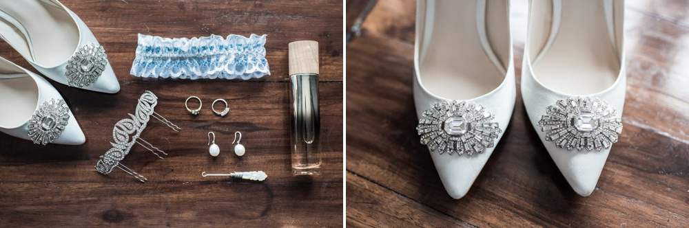 Bridal preparations - Lulworth Castle Wedding photographer