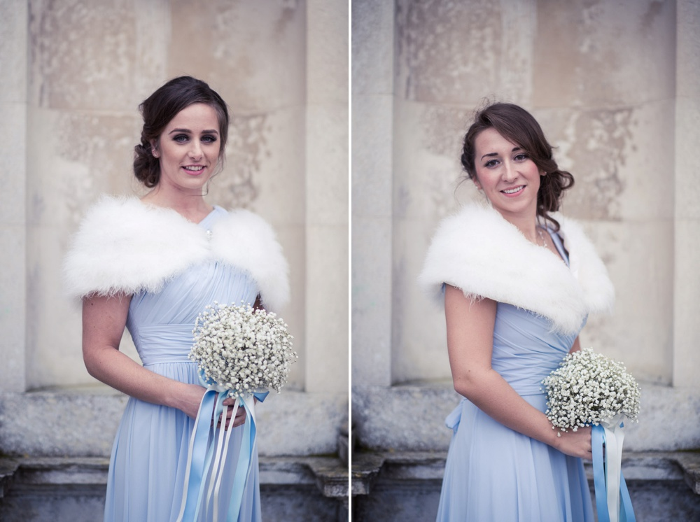 Lulworth Castle Wedding Photographer Brides Maids Portraits