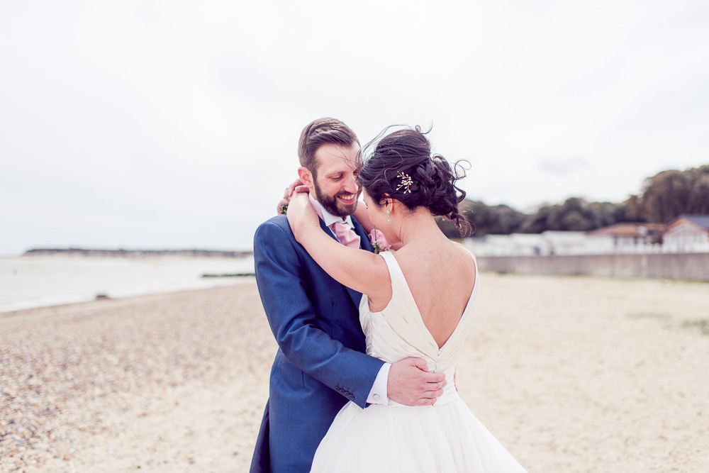 Christchurch Harbour Hotel Wedding Beach photography location