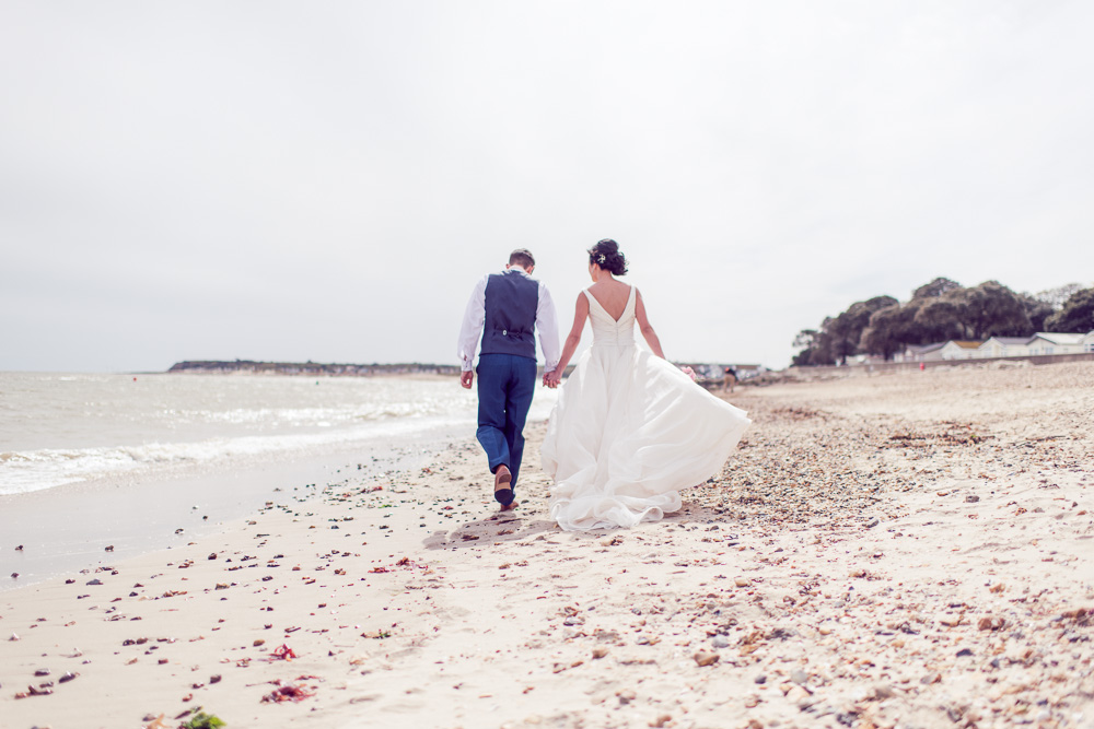 Christchurch Harbour Hotel Wedding Beach close to venue