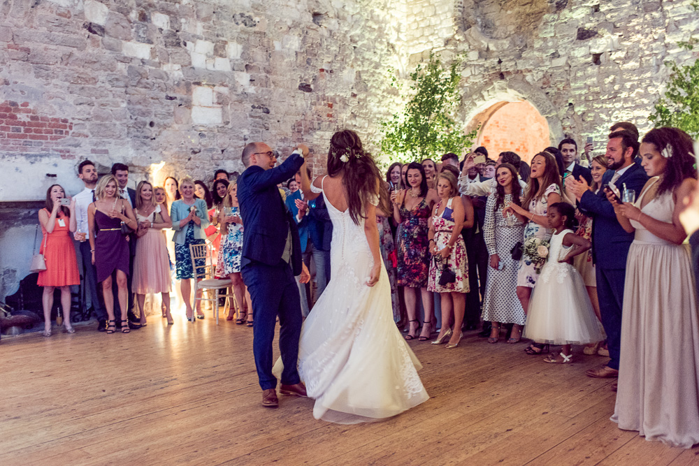 0002 Lulworth Castle Wedding First Dance-_DSC3794