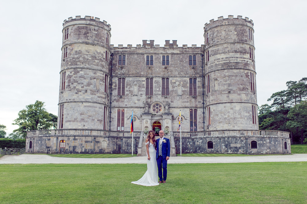 0011 Lulworth Castle Wedding Photography -_DSC3743- a