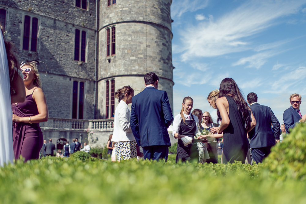 0016 Lulworth Castle Wedding Rose Garden b -_DSC3256
