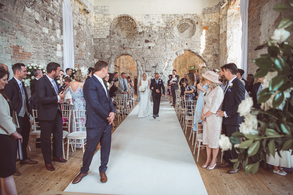 Lulworth castle wedding 0037