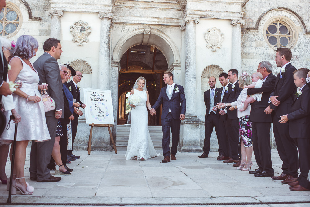 Lulworth castle wedding 0054