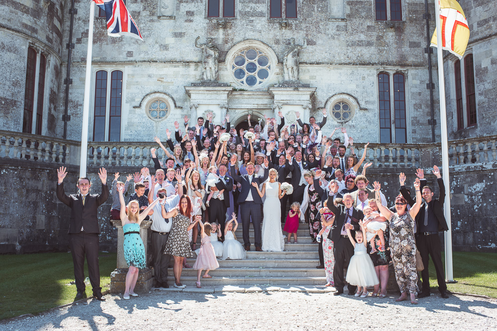 Lulworth castle wedding 0057