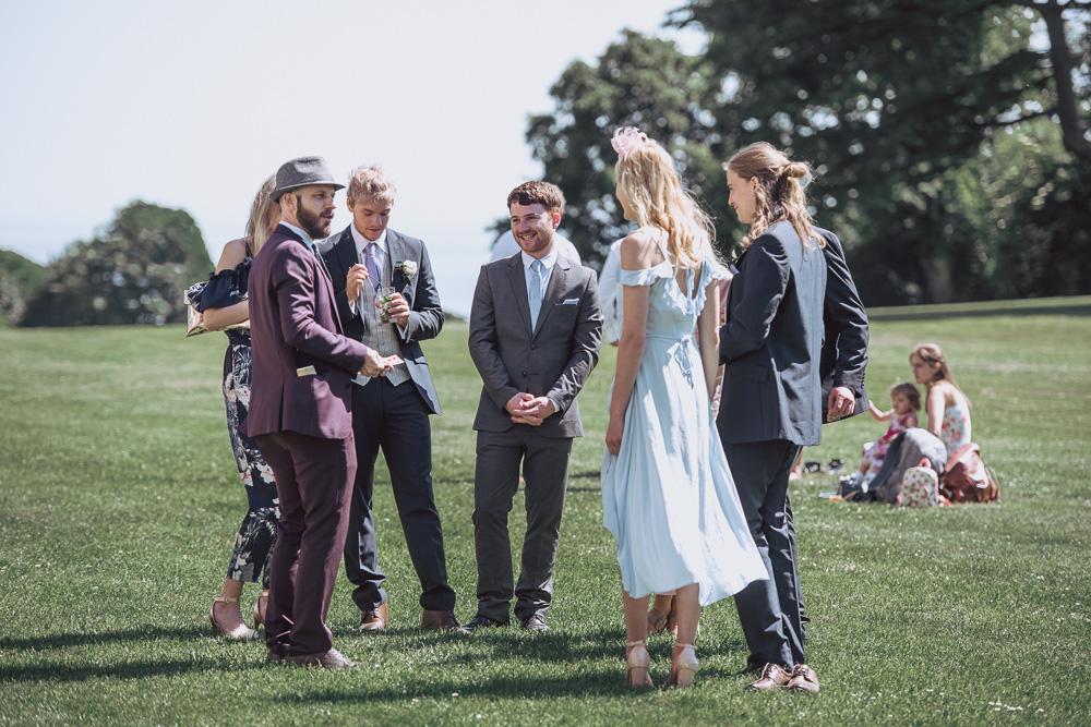 Lulworth castle wedding 0071