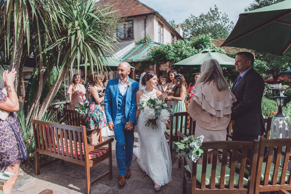 The Mill at Gordleton Wedding - 0112