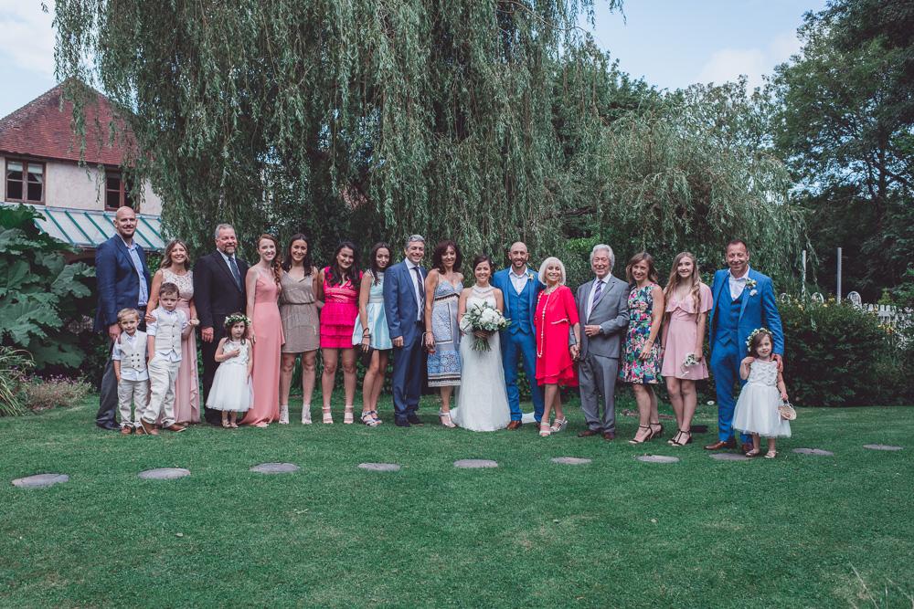 The Mill at Gordleton Wedding - 0130