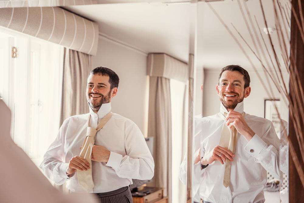 Chewton Glen Wedding Groom preparations -_DSC4200
