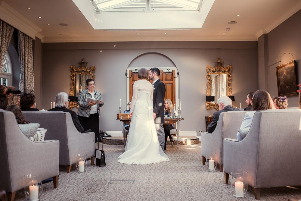 Chewton Glen wedding ceremony room -_DSC8353