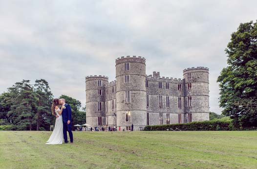 A Lulworth Castle wedding in Dorset