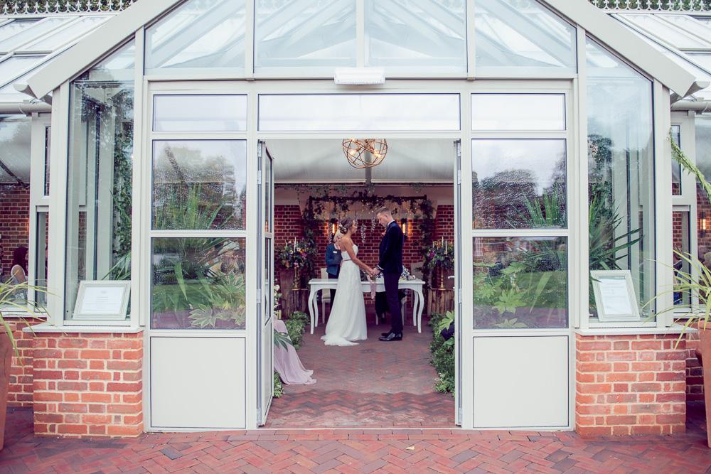 Syrencot Orangery Wedding