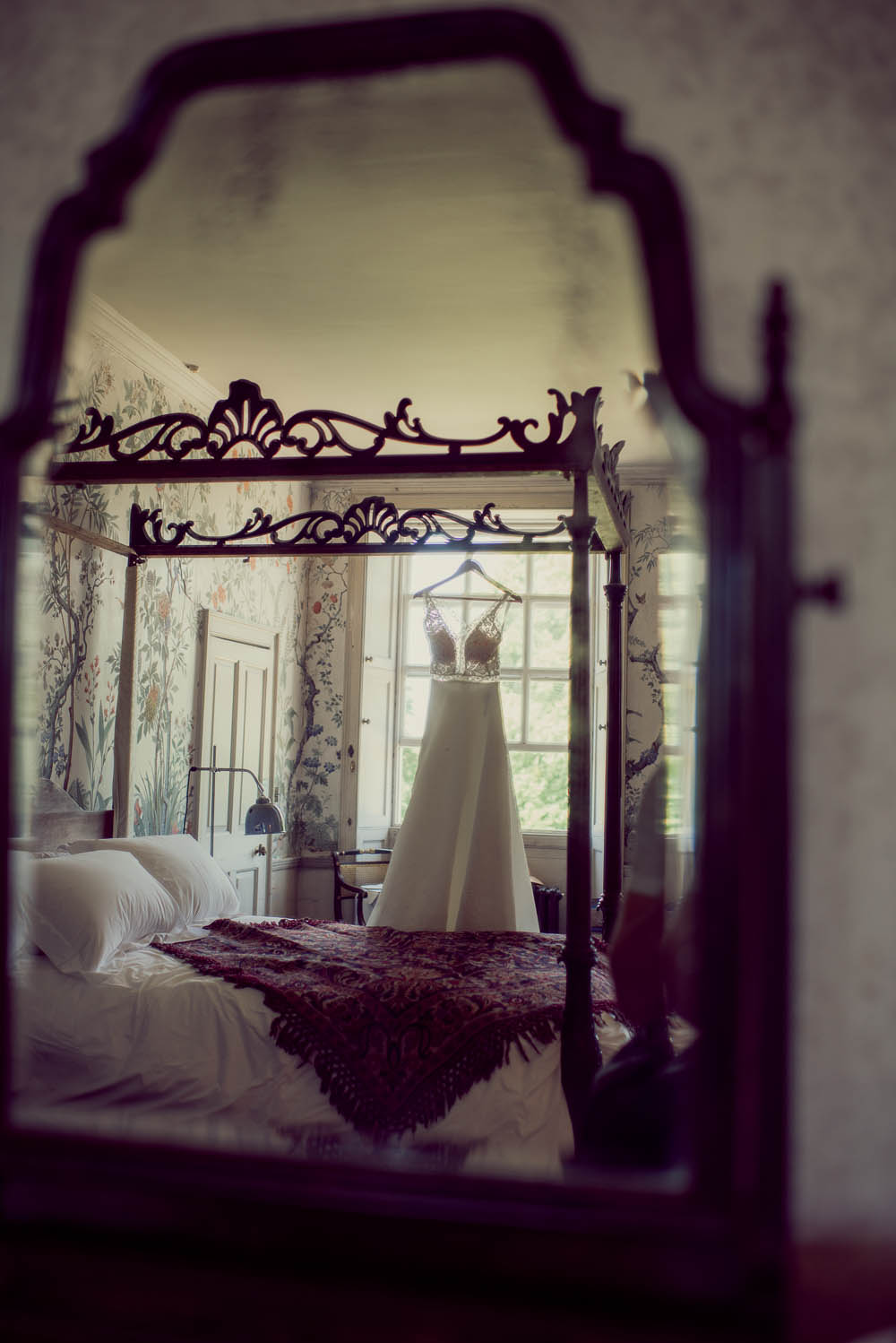 St Giles House bridal suite