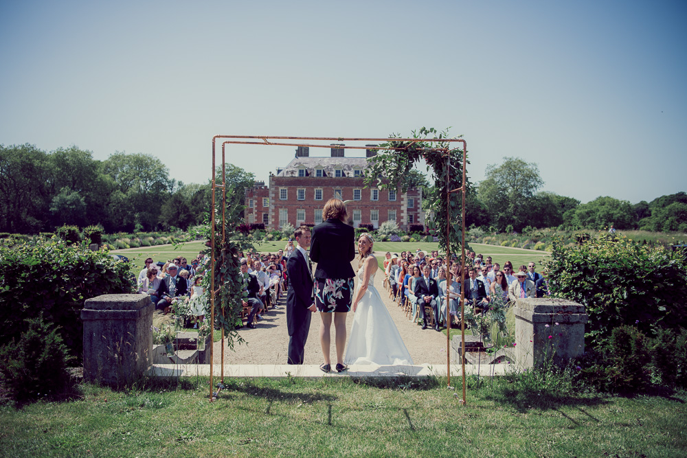 St Giles House Wedding ceremony