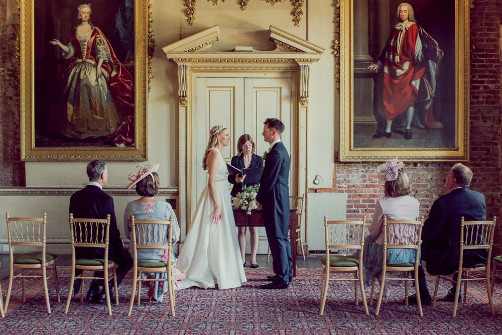 St Giles House wedding ceremony room