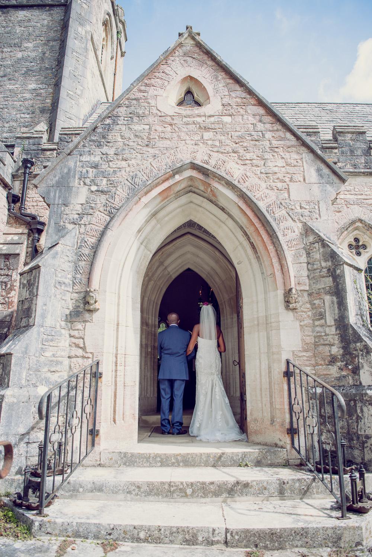 Brownsea island Church Wedding