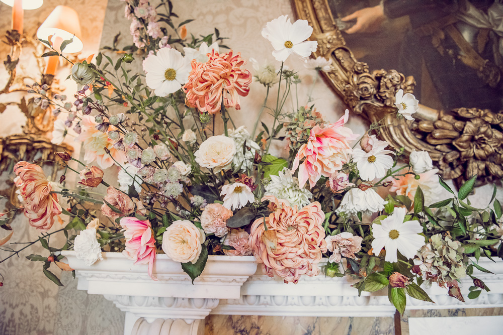 wedding flowers detail