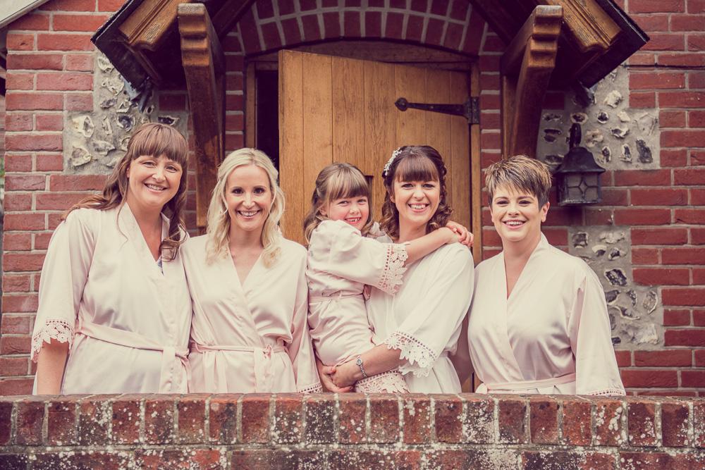 Dorset wedding cottage for bride preparations