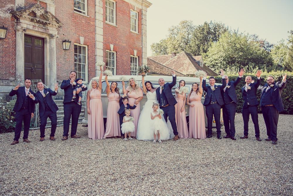 Deans Court Wedding photo
