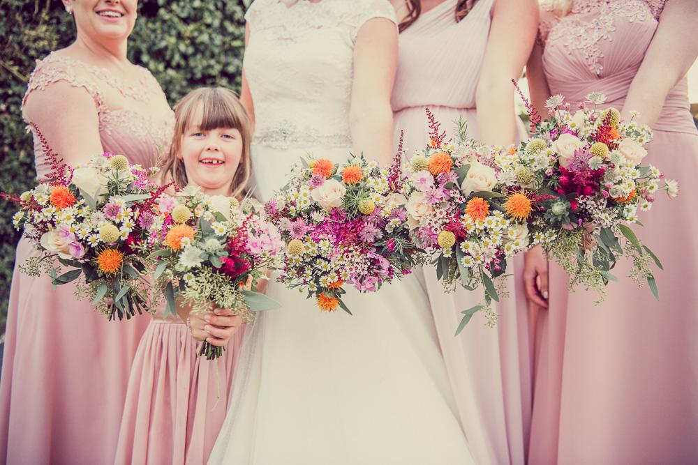 Dorset marquee wedding wedding bouquets