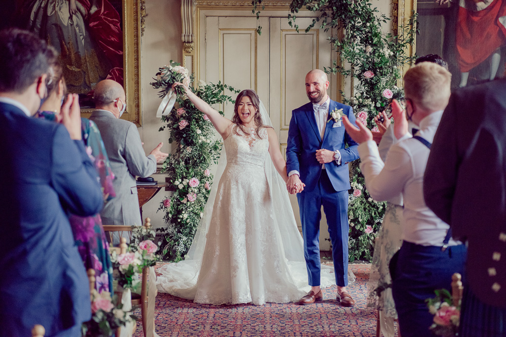 Wedding Ceremony room at St Giles House