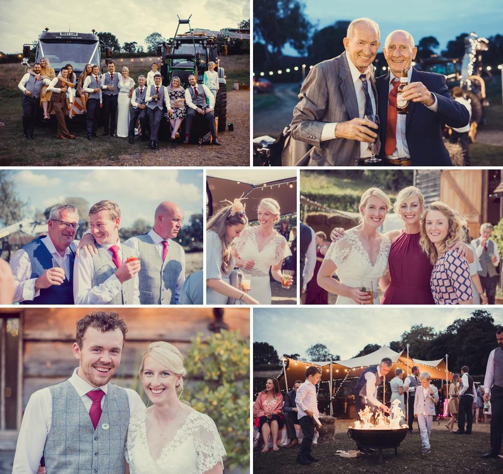 Horticultural tractors & Wedding photos
