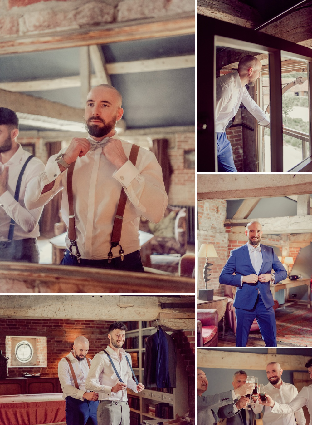 Groom Prep images at St Giles House in Dorset