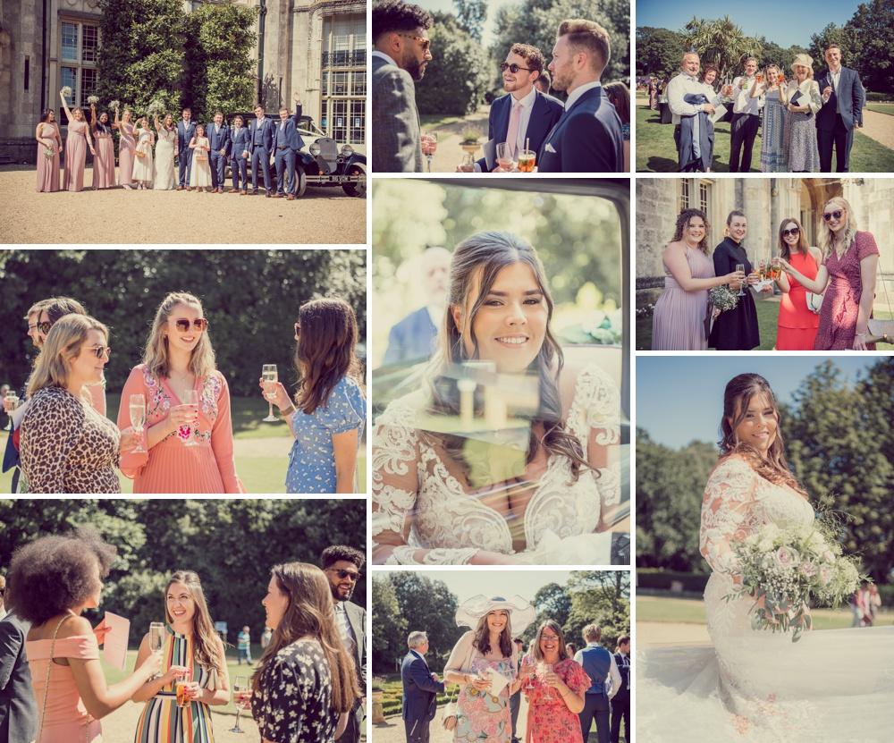 Highcliffe Castle wedding captured moment photography