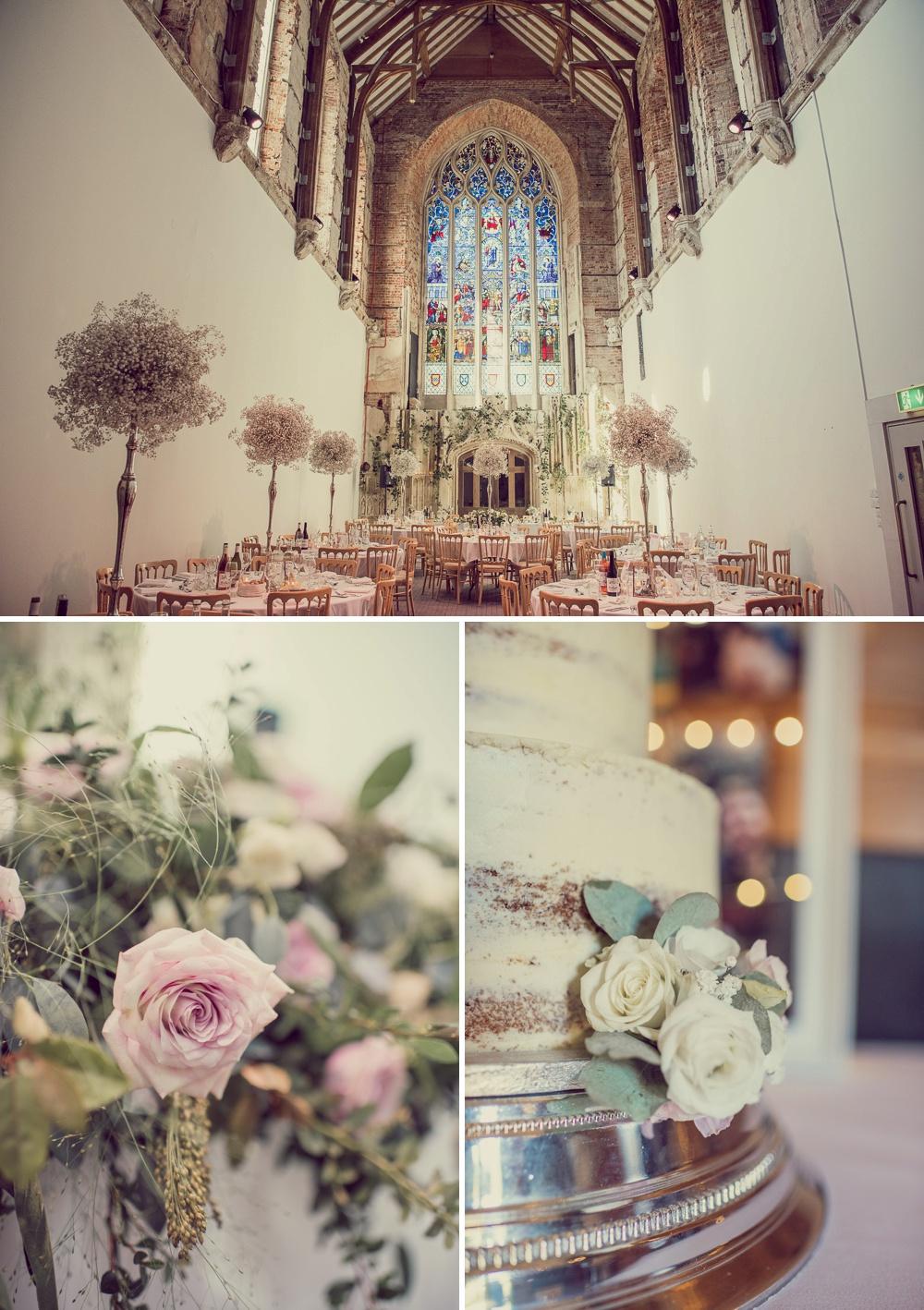 Highcliffe Castle wedding Breakfast room