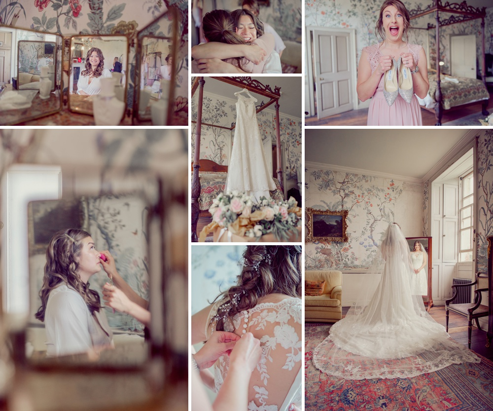 Bridal Preparation images at St Giles House