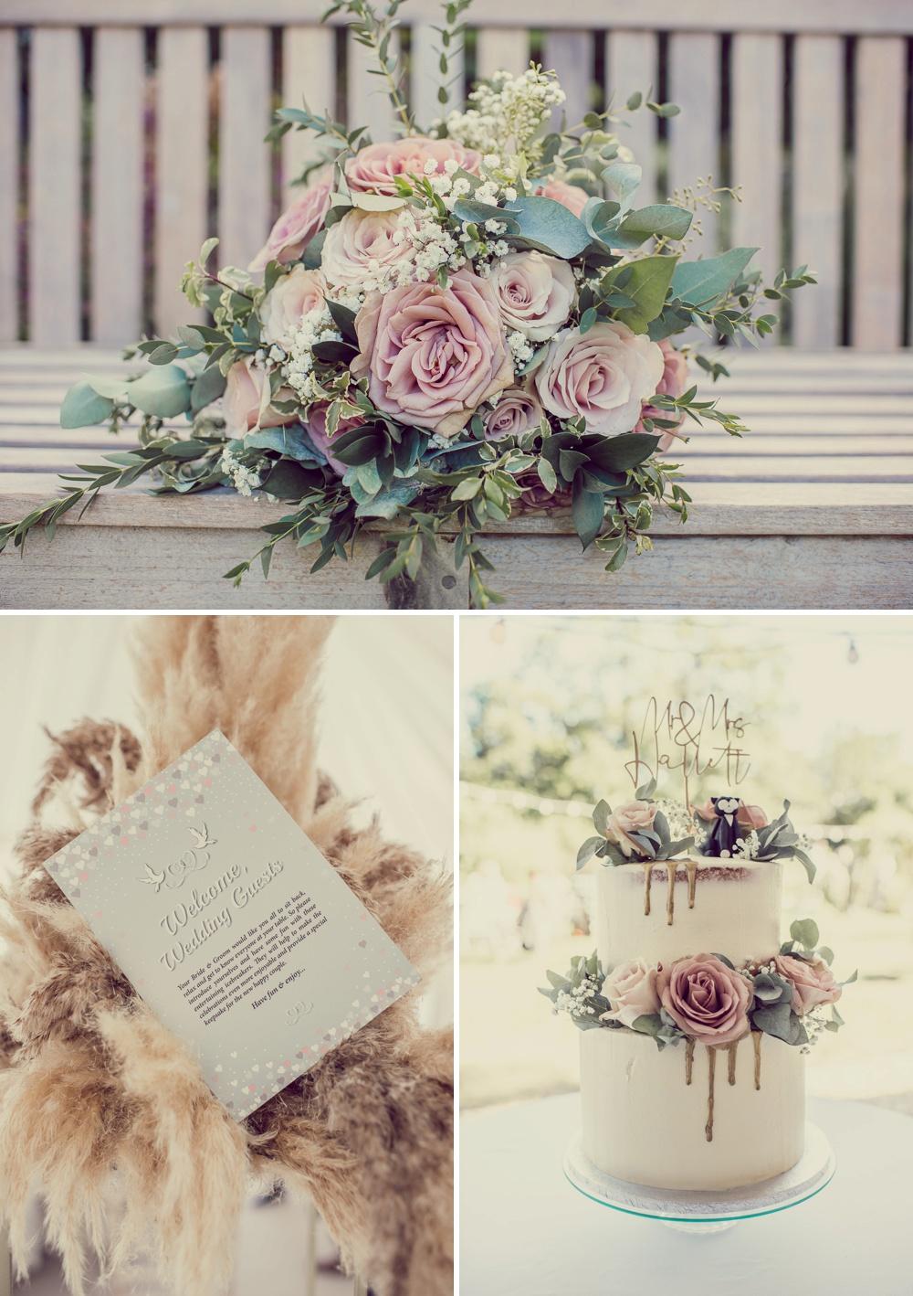 Deans Court Wedding cake